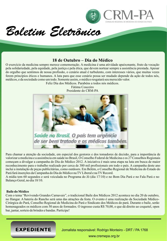 Boletim Do Conselho Anúncios  De Belém-1012