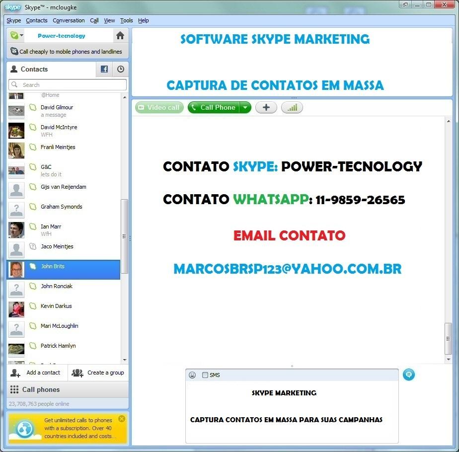 Contatos Skype Garotas Online-50839